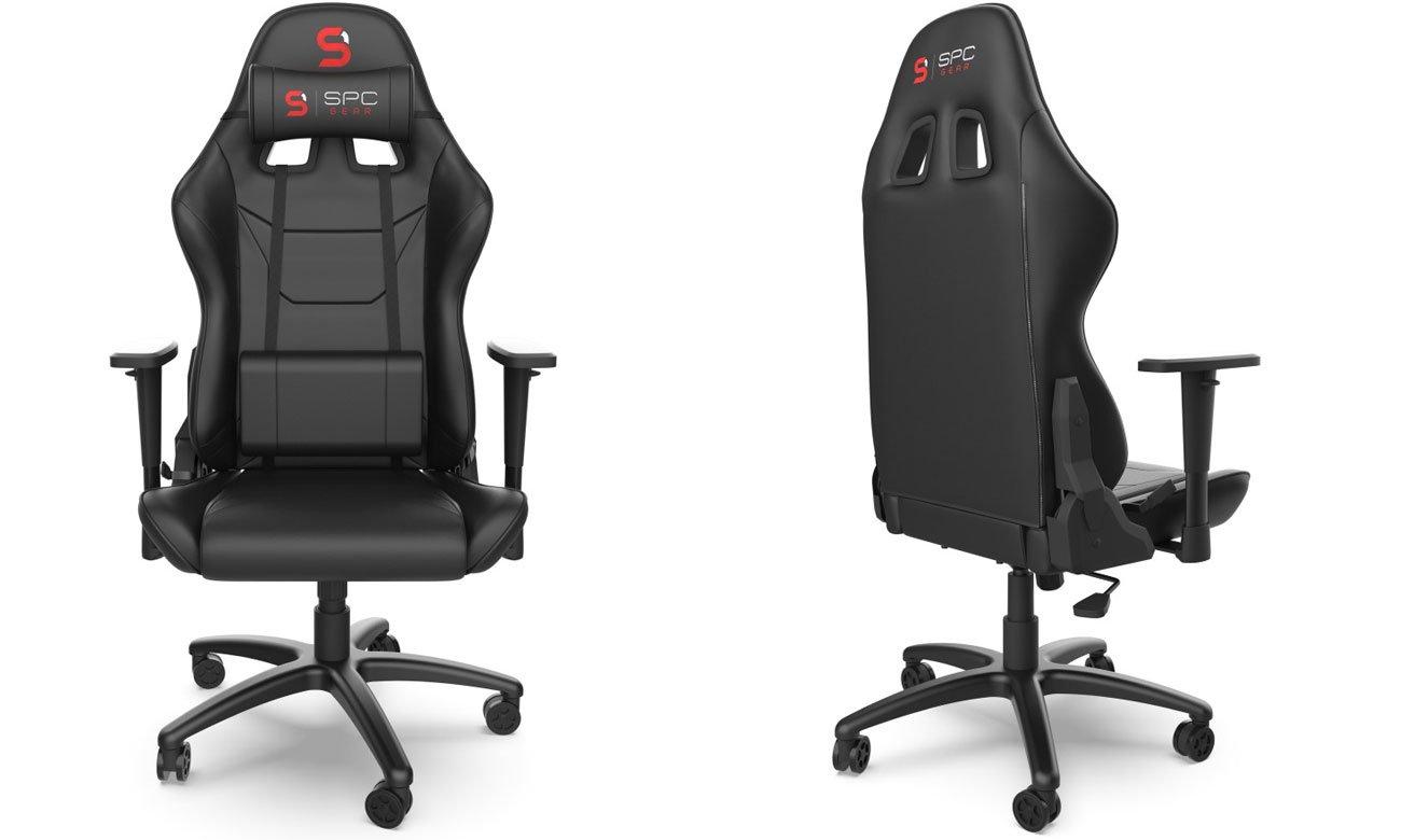 Fotel dla gracza SPC Gear V2 Czarny