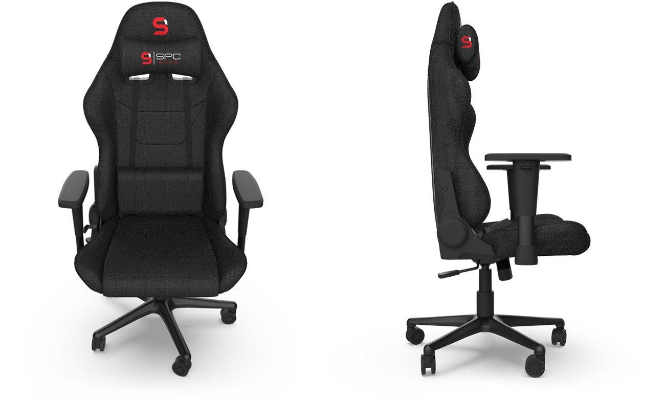 Komfortowe wyprofilowanie fotela