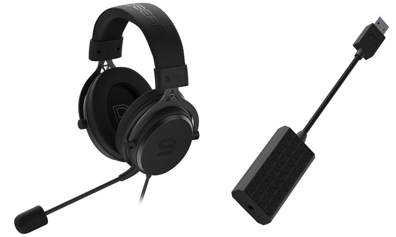 Słuchawki dla graczy SPC Gear VIRO Plus USB 7.1