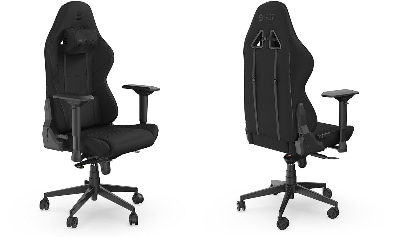 Fotel gamingowy SPC Gear SR600F Czarny