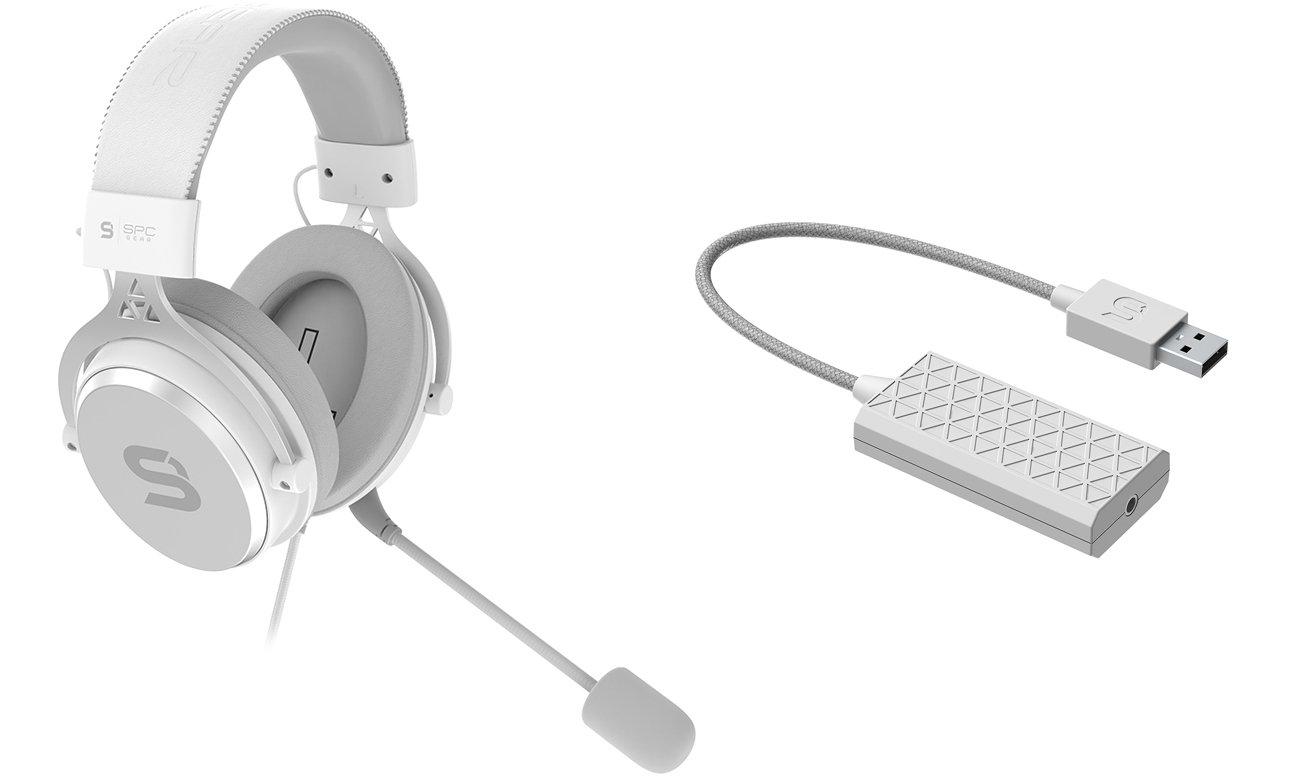 Słuchawki SPC Gear VIRO Onyx White
