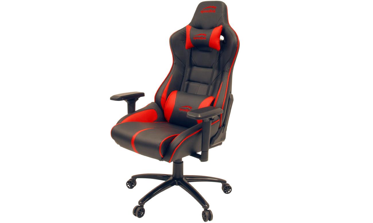 Fotel dla graczy SpeedLink Ariac Czarno-czerwony