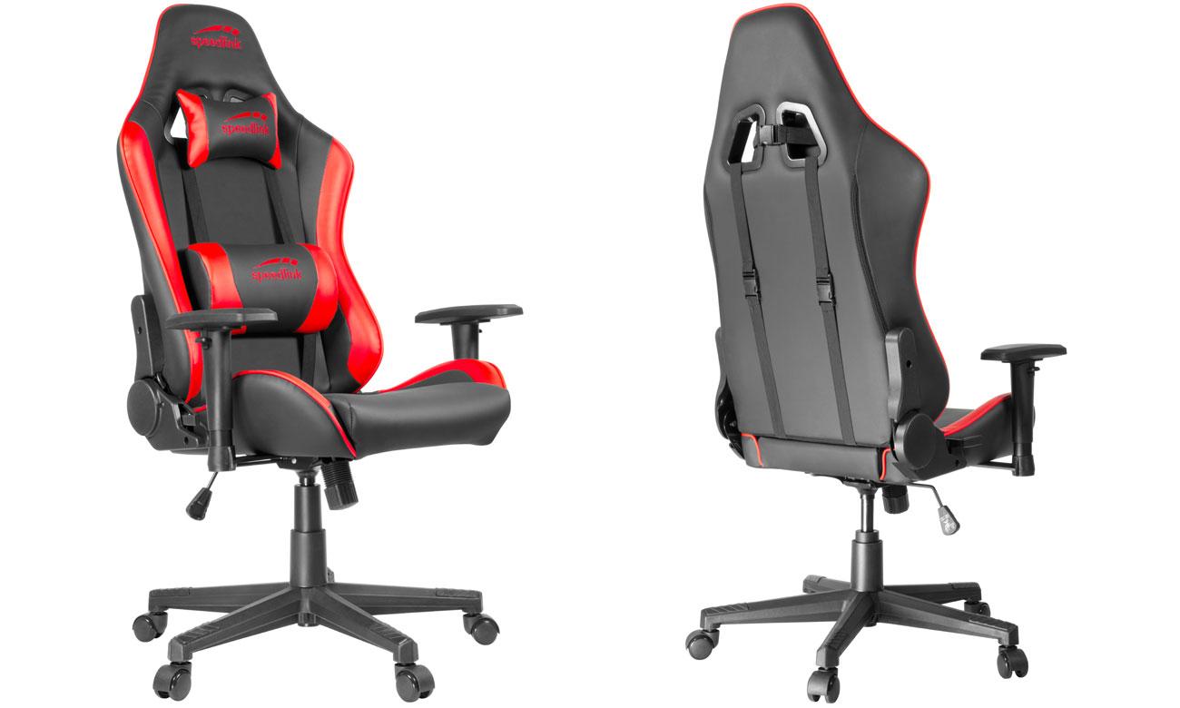 Fotel dla gracza SpeedLink XANDOR Czarno-czerwony