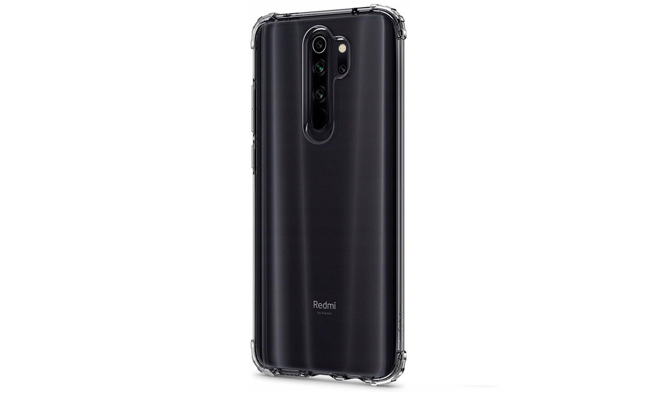 Etui Crystal Shell do Xiaomi Redmi Note 8 Pro