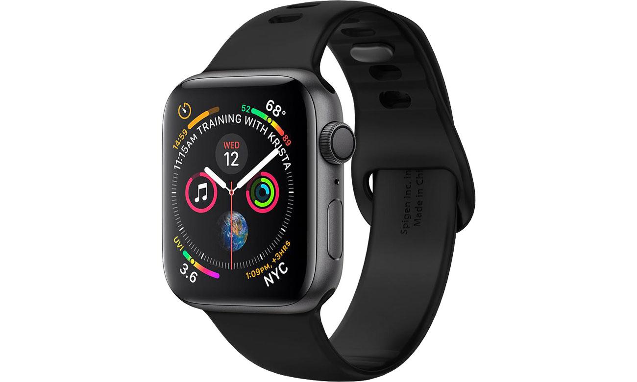 Spigen Air Fit Band do Apple Watch 38/40mm Black 061MP25405