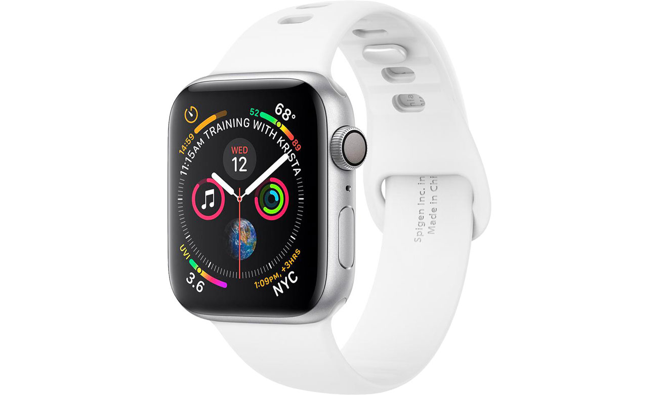 Spigen Air Fit Band do Apple Watch 42/44mm White 062MP25402