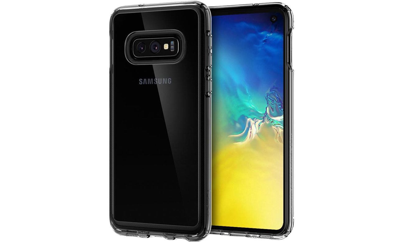 Etui Spigen Crystal Hybrid do Samsung Galaxy S10e Clear