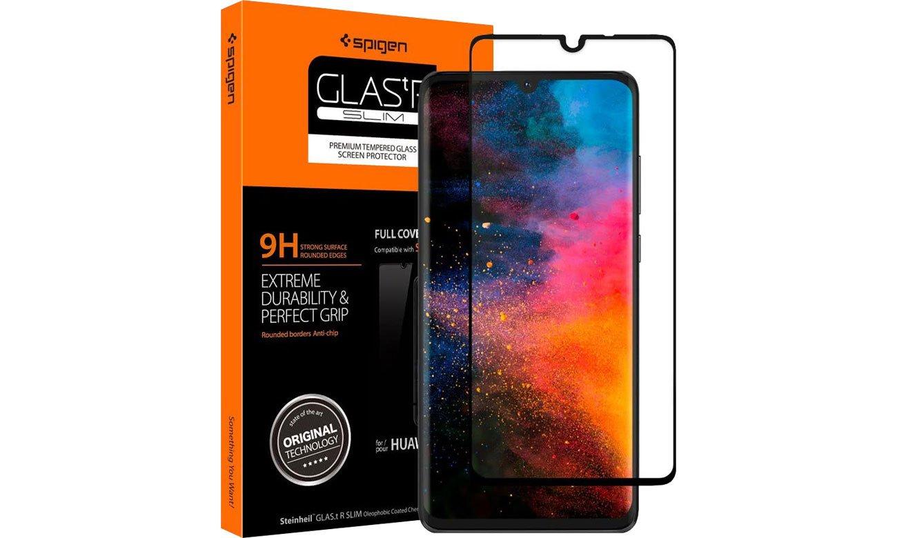 Spigen Szkło GLAS.TR Slim FC do Huawei P30 Black L38GL26018