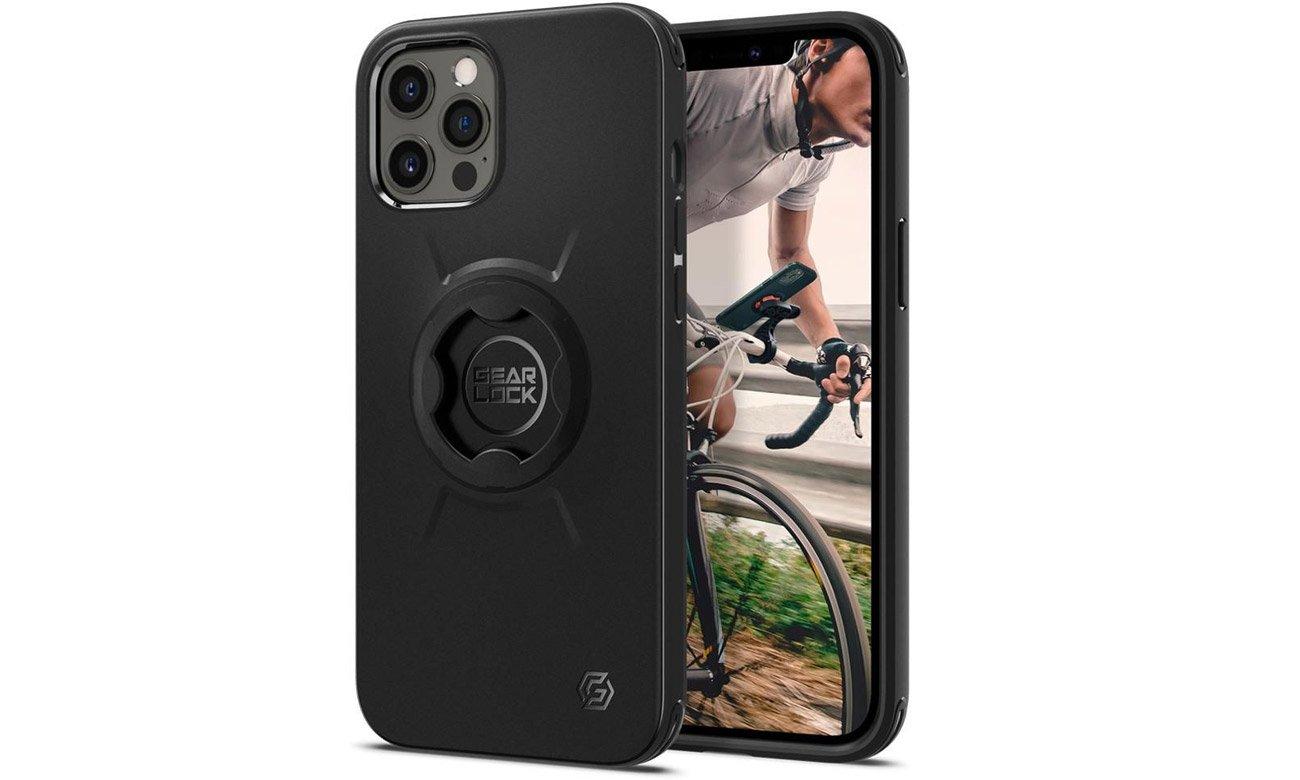 Etui Spigen Gearlock GCF133 Bike Mount Case do iPhone 12 Pro Max