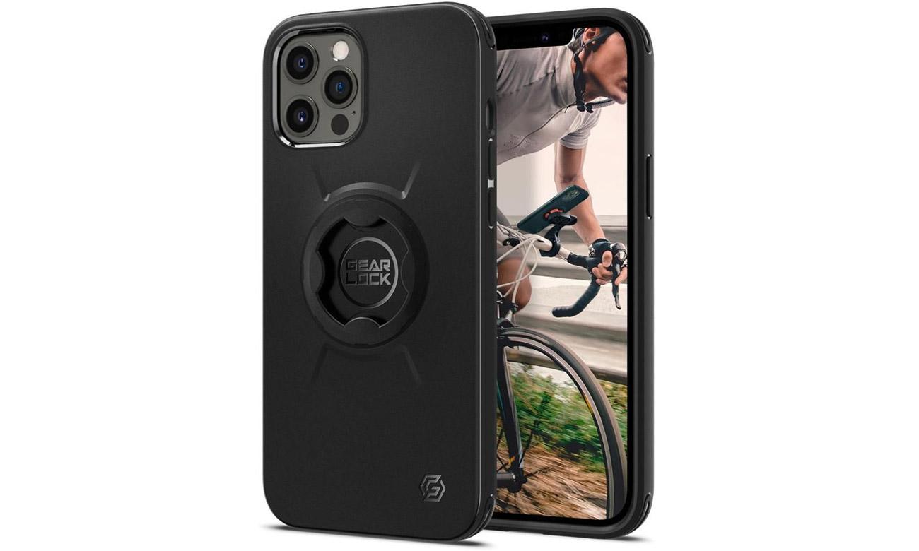 Etui Spigen Gearlock GCF133 Bike Mount Case do iPhone 12 / 12 Pro