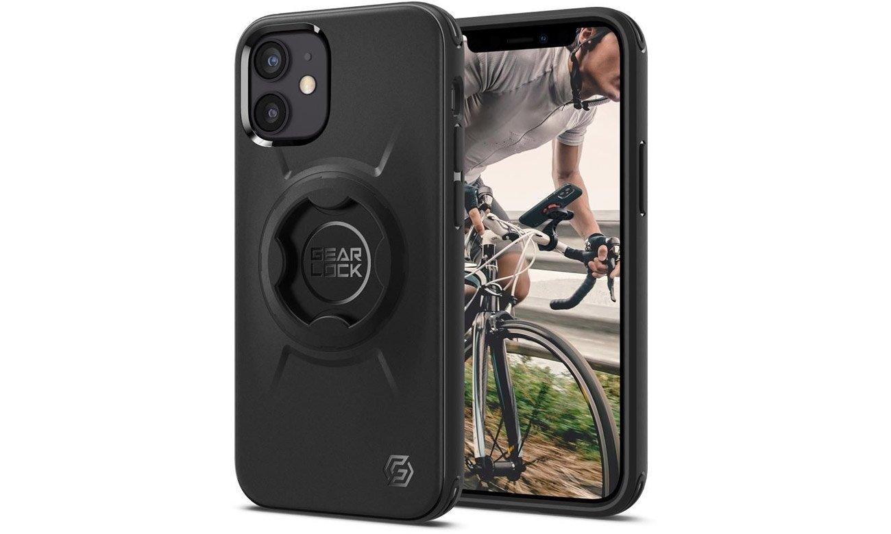 Etui Spigen Gearlock GCF133 Bike Mount Case do iPhone 12 Mini