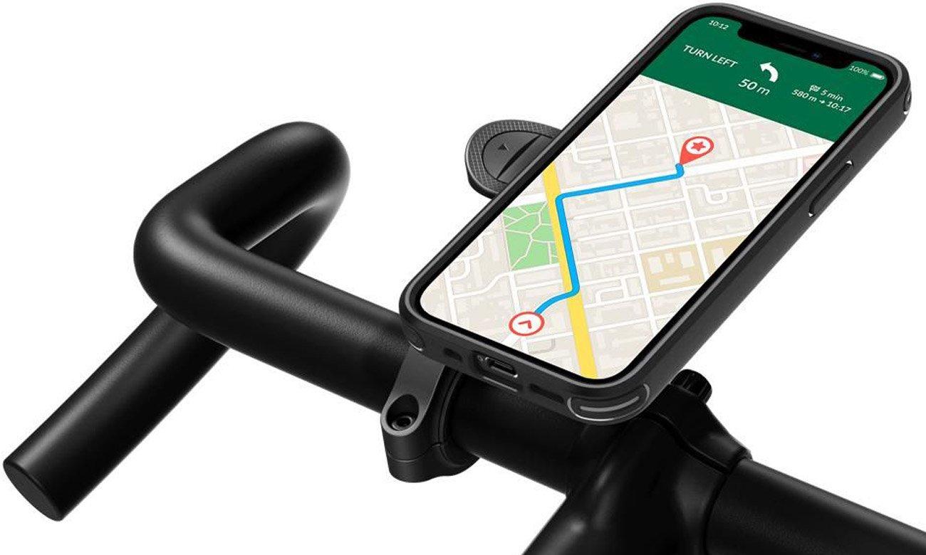 System montażowy do uchwytów rowerowych