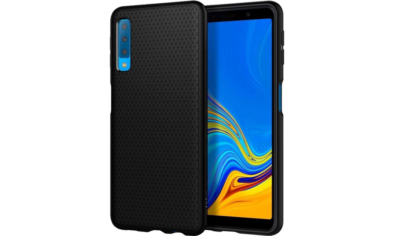 wholesale dealer 8301b 4d29f Spigen Liquid Air do Galaxy A7 2018 Black - Etui i obudowy na ...