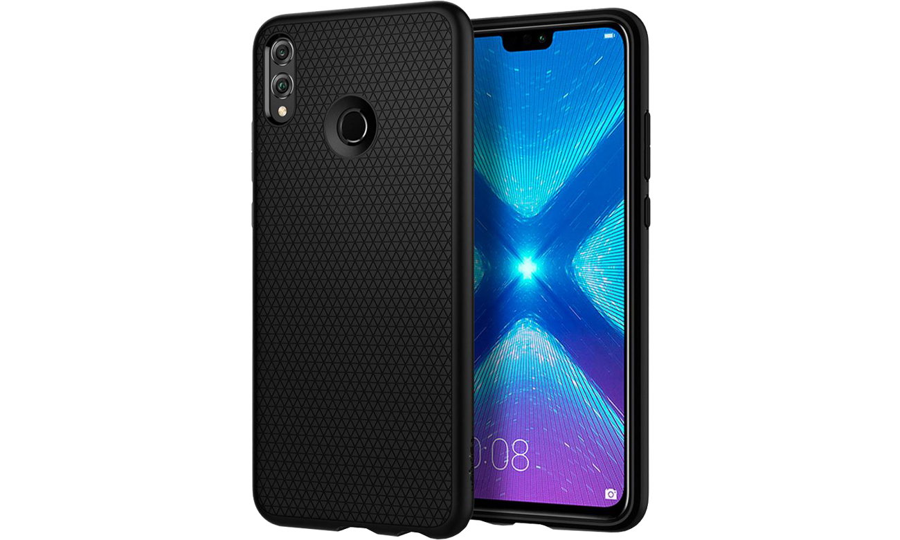 Etui/obudowa na smartfona Spigen Liquid Air do Honor 8X Black L27CS25447
