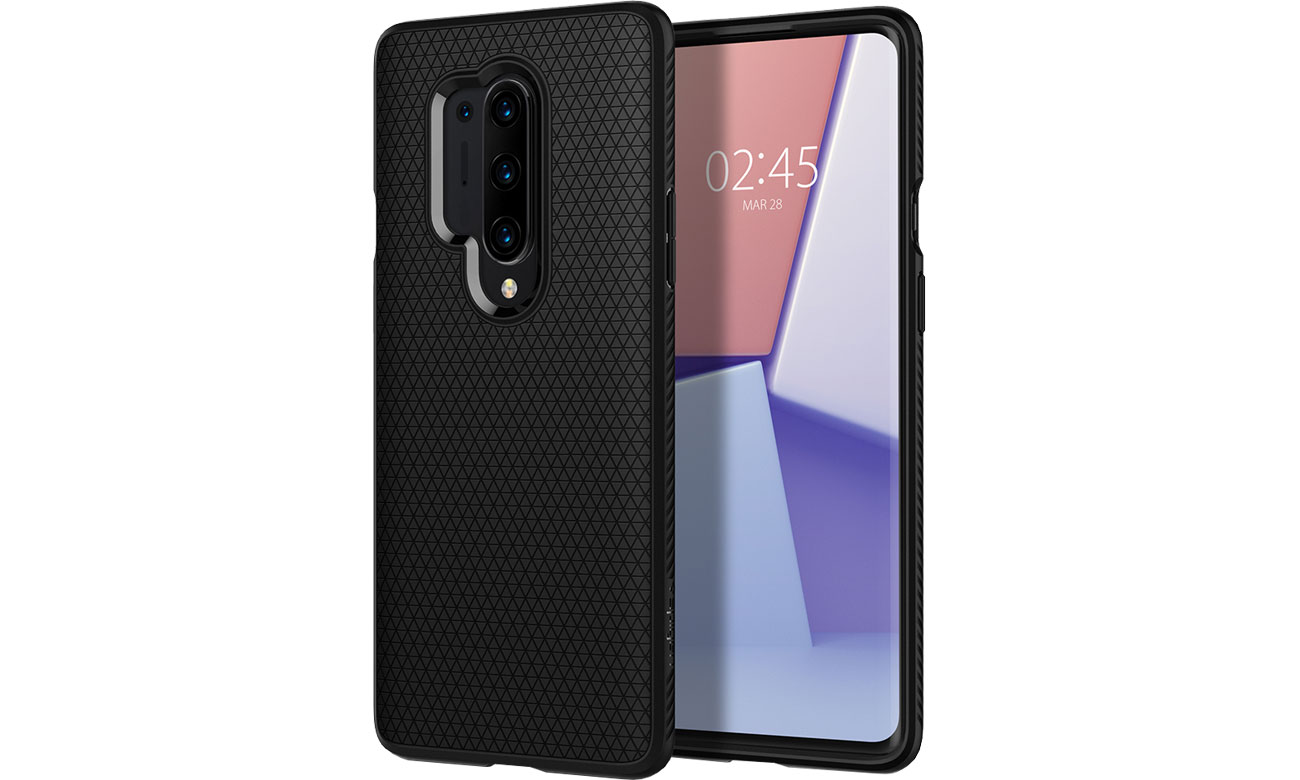 Spigen Liquid Air do OnePlus 8 Pro Black ACS00833
