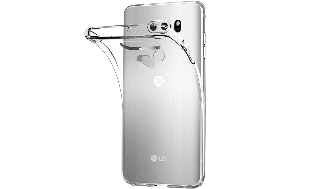 Spigen Liquid Crystal do LG V30 Crystal Clear