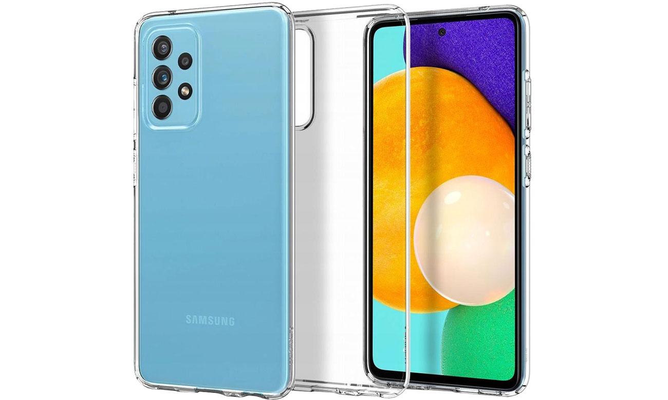 Spigen Liquid Crystal do Samsung Galaxy A72 ACS02325