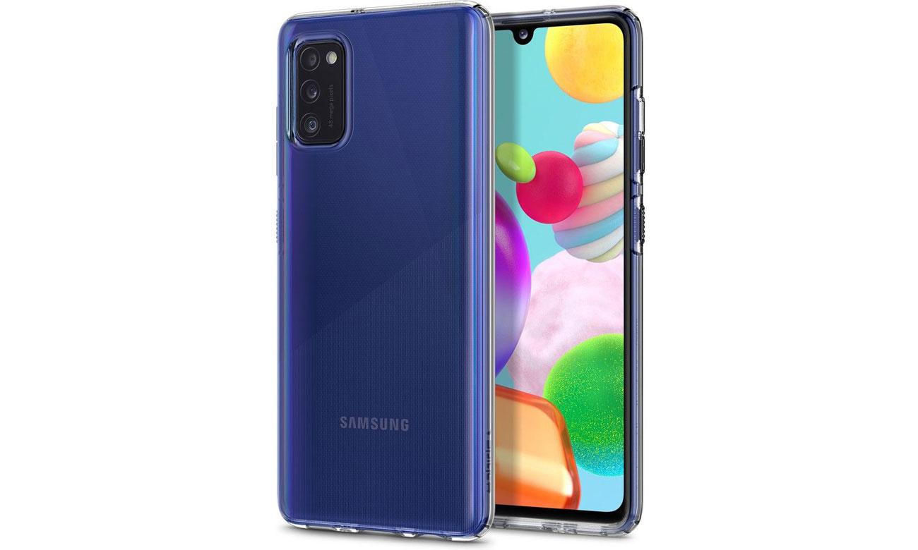 Spigen Liquid Crystal Clear do Samsung Galaxy A41