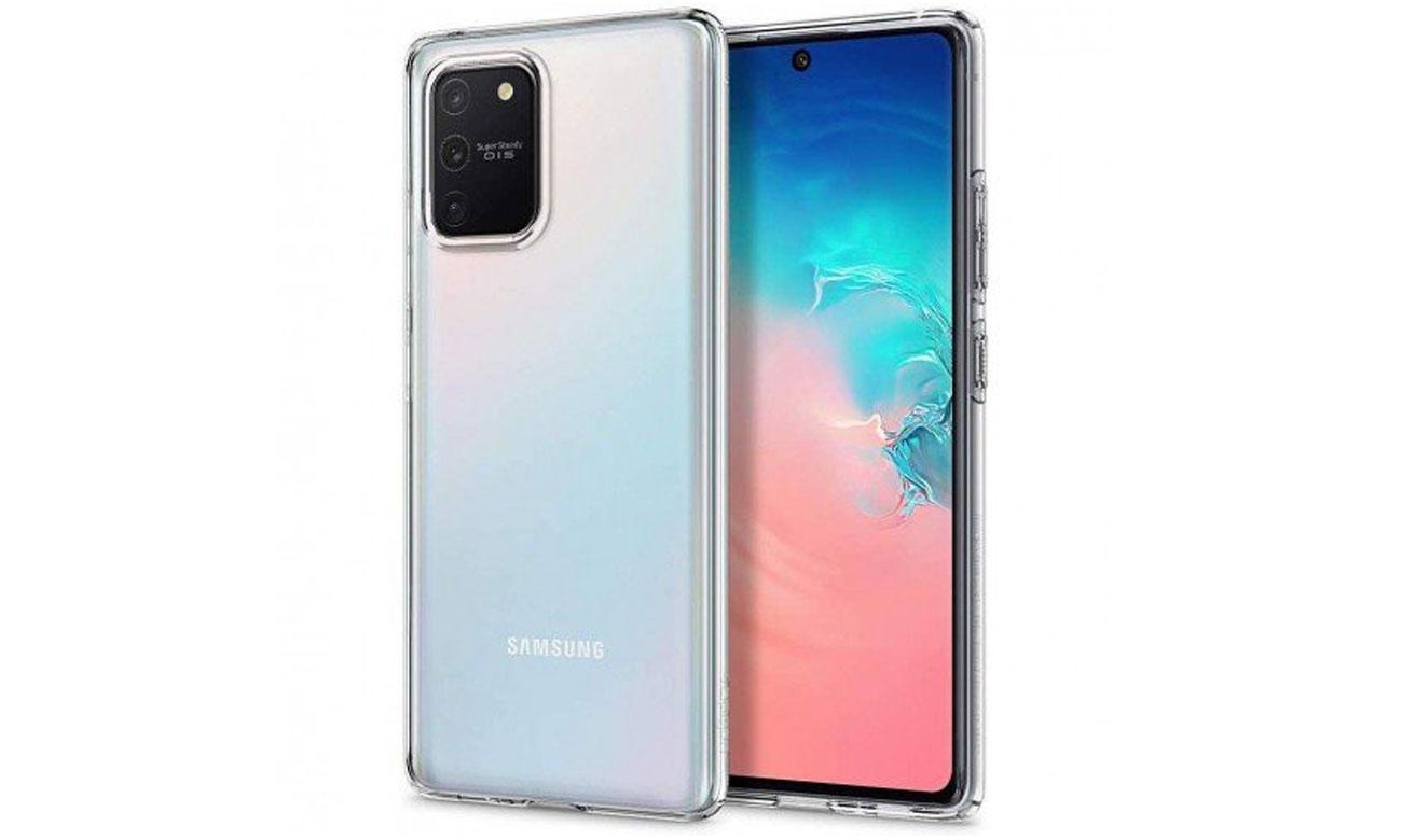 Spigen Liquid Crystal do Samsung Galaxy S10 Lite Clear