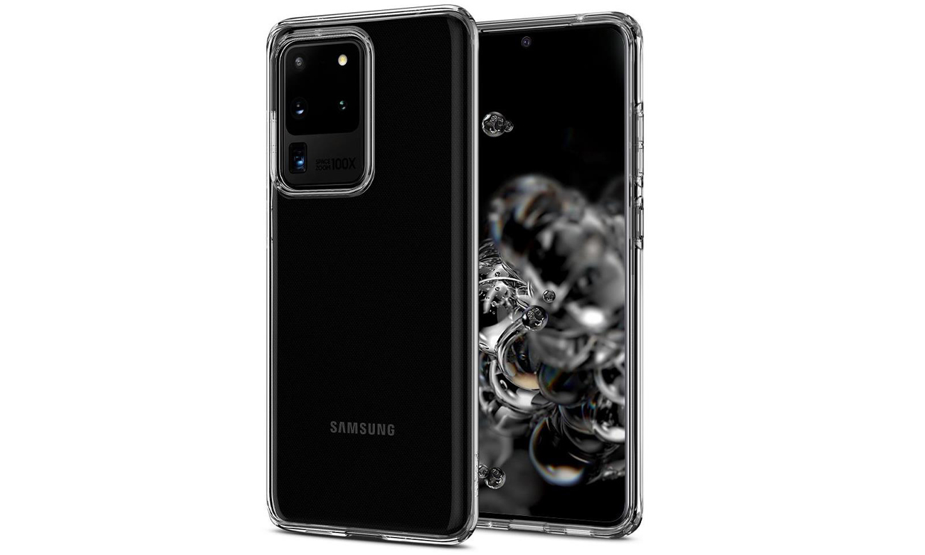 Spigen Liquid Crystal Clear do Samsung Galaxy S20 Ultra