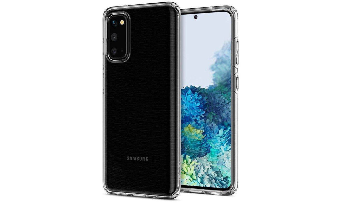 Spigen Liquid Crystal Clear do Samsung Galaxy S20