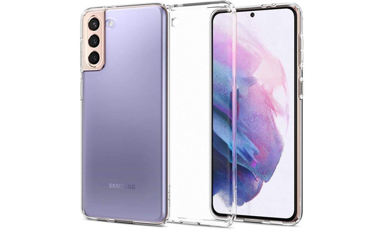Spigen Liquid Crystal Clear do Samsung Galaxy S21+