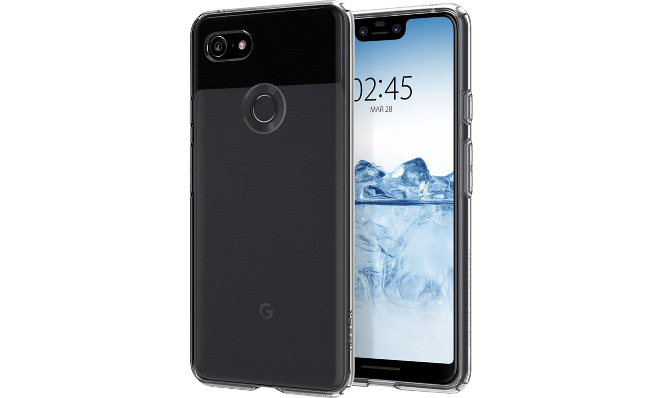 Etui Spigen Liquid Crystal do Google Pixel 3 XL Clear
