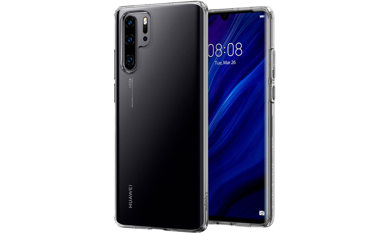 Spigen Liquid Crystal do Huawei P30 Pro Clear