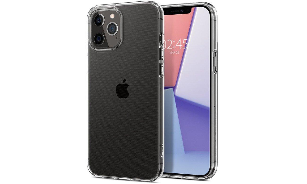 Spigen Liquid Crystal Clear do iPhone 12 / 12 Pro