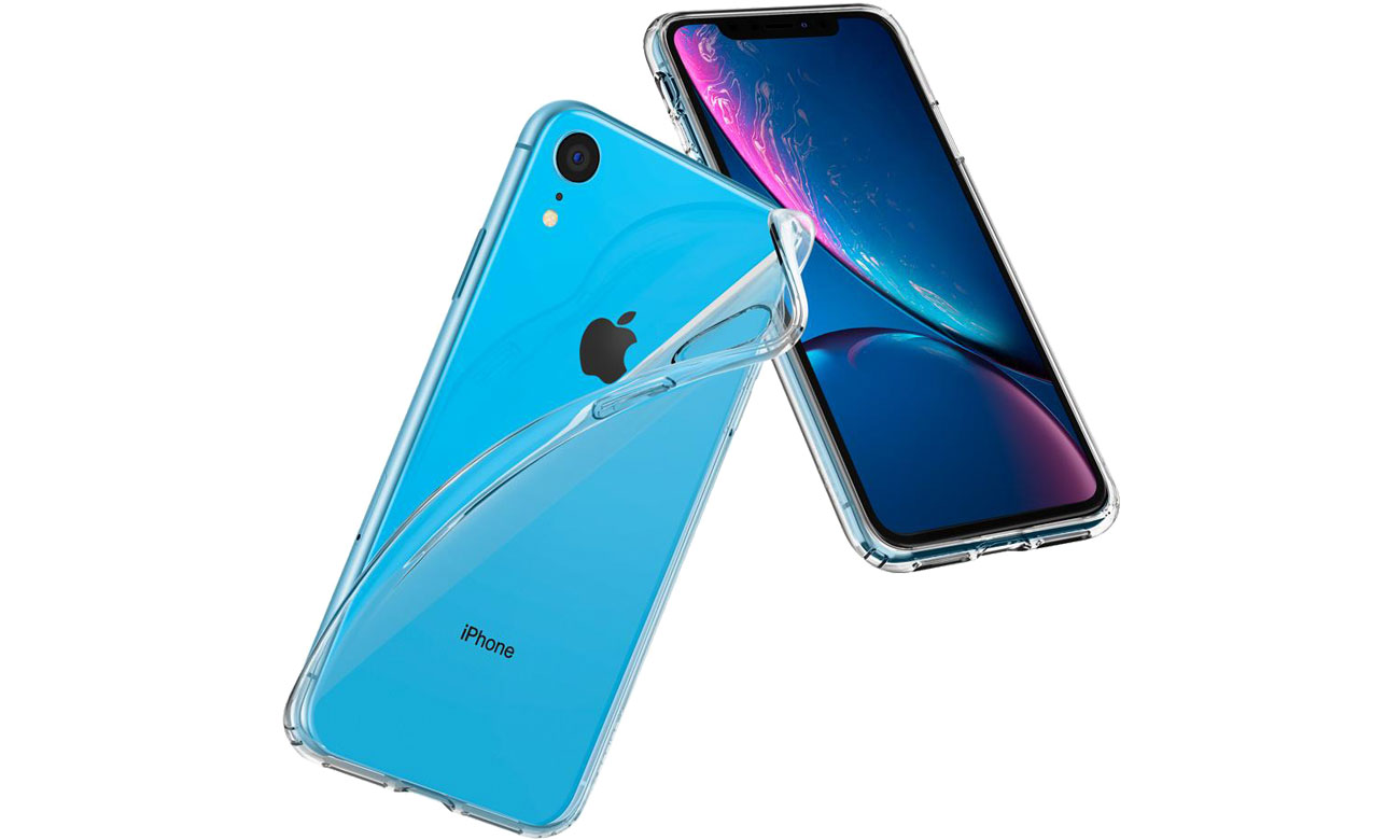 Etui Spigen Liquid Crystal Clear do iPhone XR 064CS24866