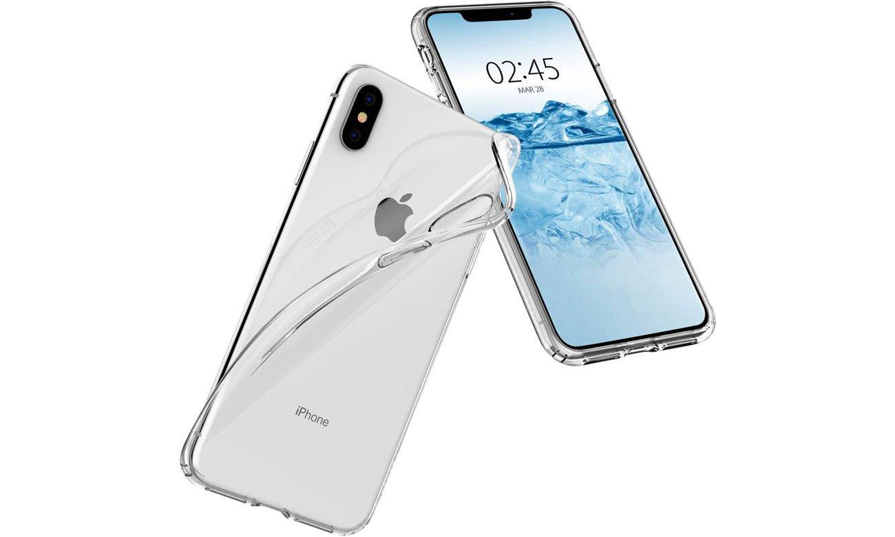 Etui Spigen Liquid Crystal Clear do iPhone XS Max 065CS25122