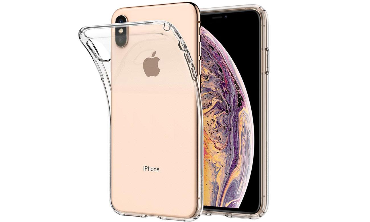 Spigen Liquid Crystal Clear do iPhone XS Max 8809613766165