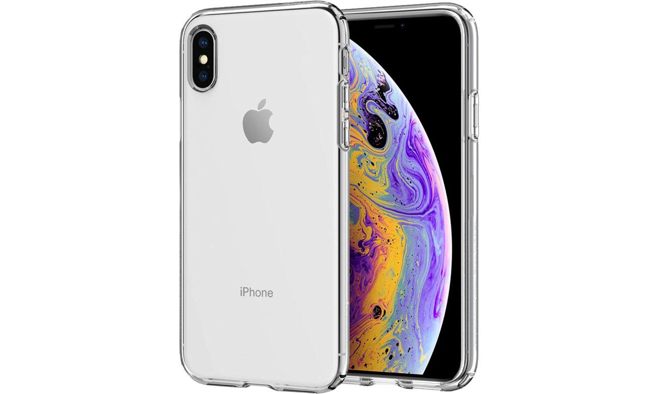 Etui Spigen Liquid Crystal Clear do iPhone XS 063CS25110
