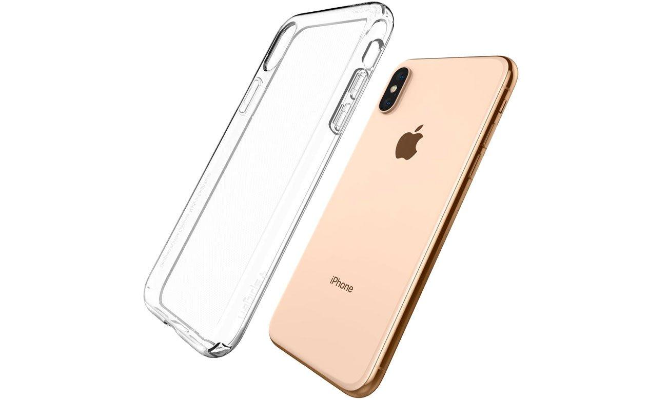 Spigen Liquid Crystal Clear do iPhone XS 8809613766042