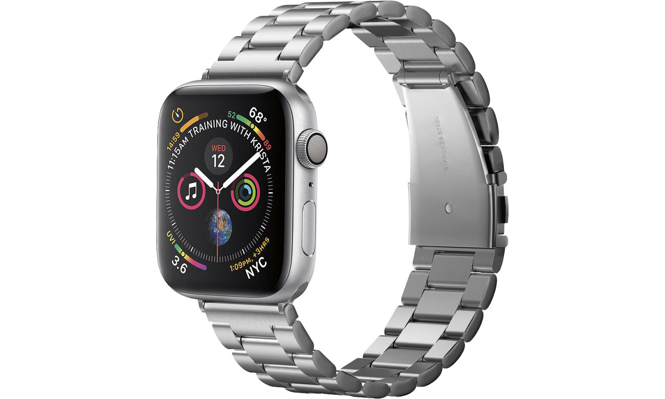 Modern Fit Band do Apple Watch 42/44mm Silver