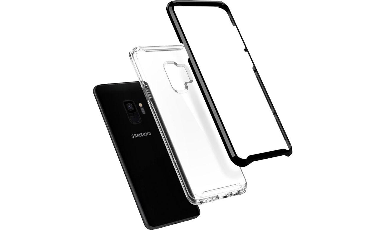 Spigen Neo Hybrid Crystal Do Galaxy S9 Podwójna budowa
