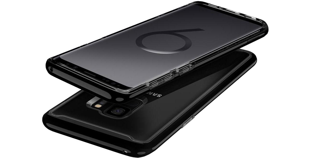 Spigen Neo Hybrid Crystal Do Galaxy S9 Dostęp do portów i funkcji