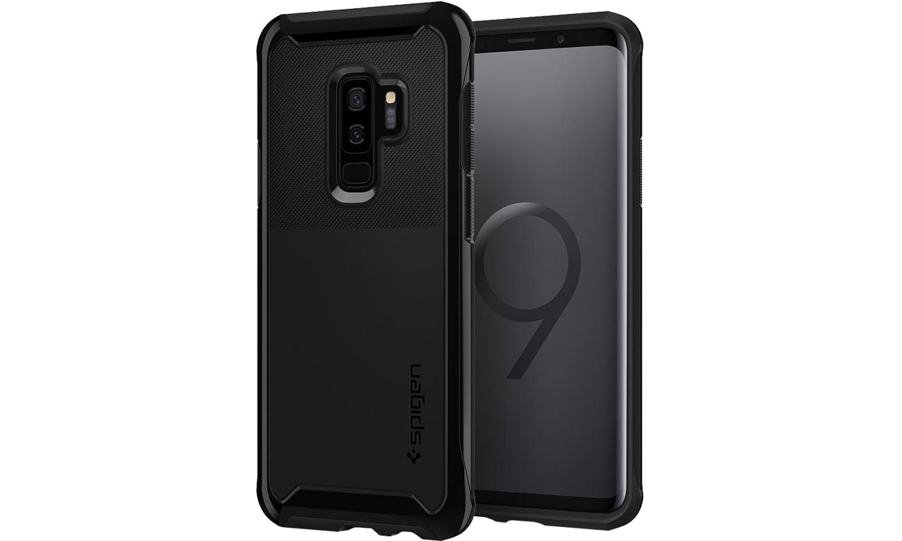 Spigen Neo Hybrid Urban do Galaxy S9+ Midnight Black TPU i poliwęglan