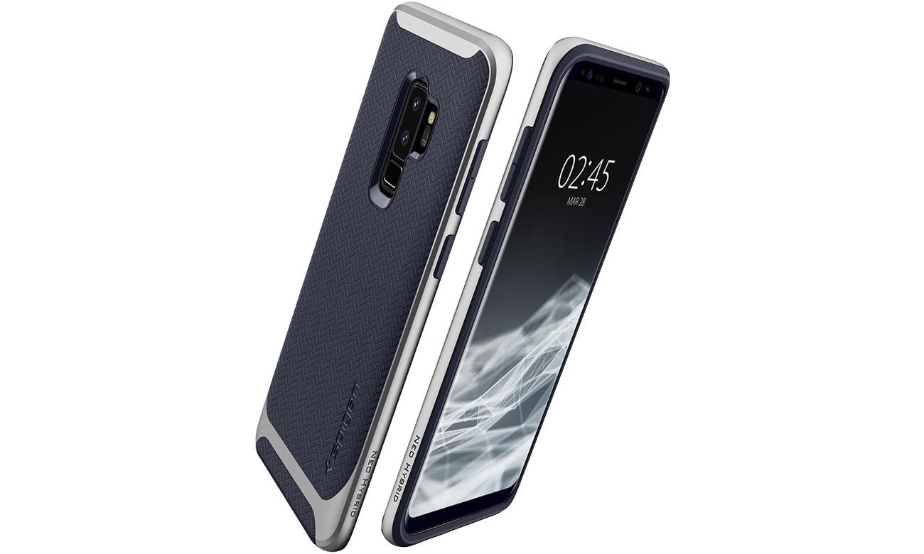 Spigen Neo Hybrid do Samsung Galaxy S9+ Arctic Silver