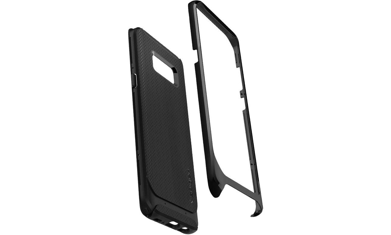 Spigen Neo Hybrid Galaxy S8 Shiny Black TPU i poliwęglan