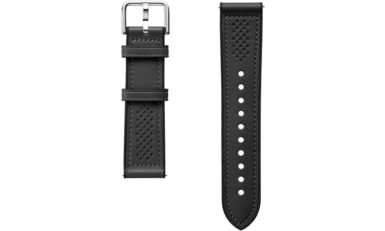 Pasek / bransoletka Spigen Retro Fit Band do Samsung Galaxy Watch czarny 603MP26445