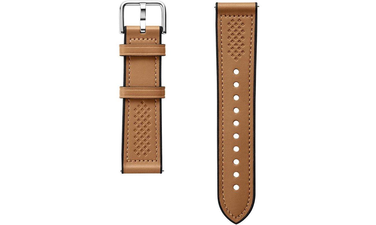 Pasek / bransoletka Spigen Retro Fit Band do Samsung Galaxy Watch brazowy 603MP26446