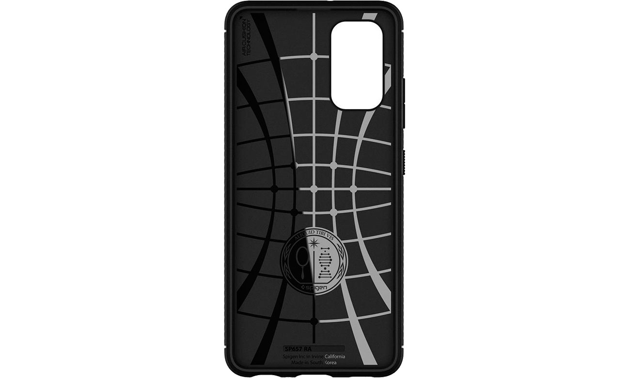 Spigen Rugged Armor do Samsung Galaxy A72 czarny ACS02324