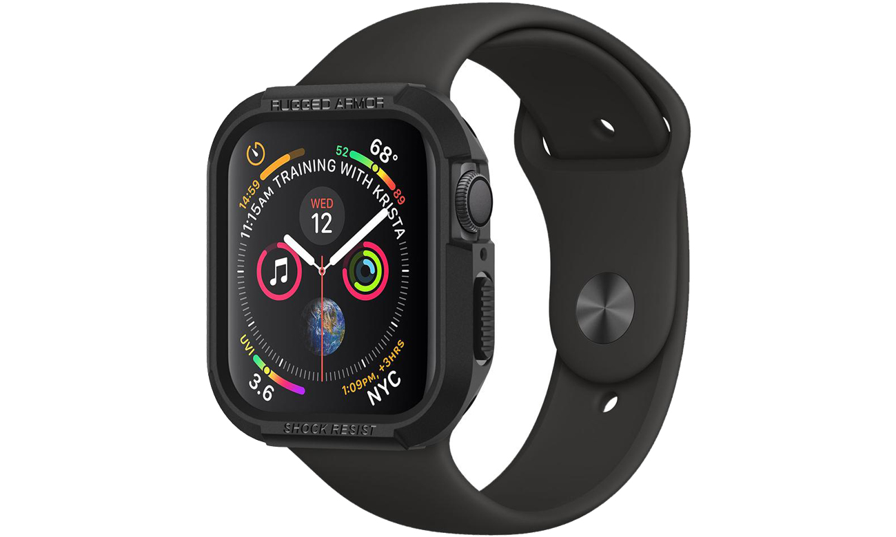 Etui Spigen Rugged Armor do Apple Watch 4 (44 mm) Black 062CS24469