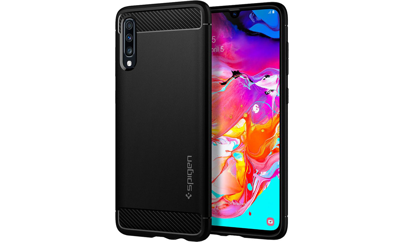 Rugged Armor do Samsung Galaxy A70 Black