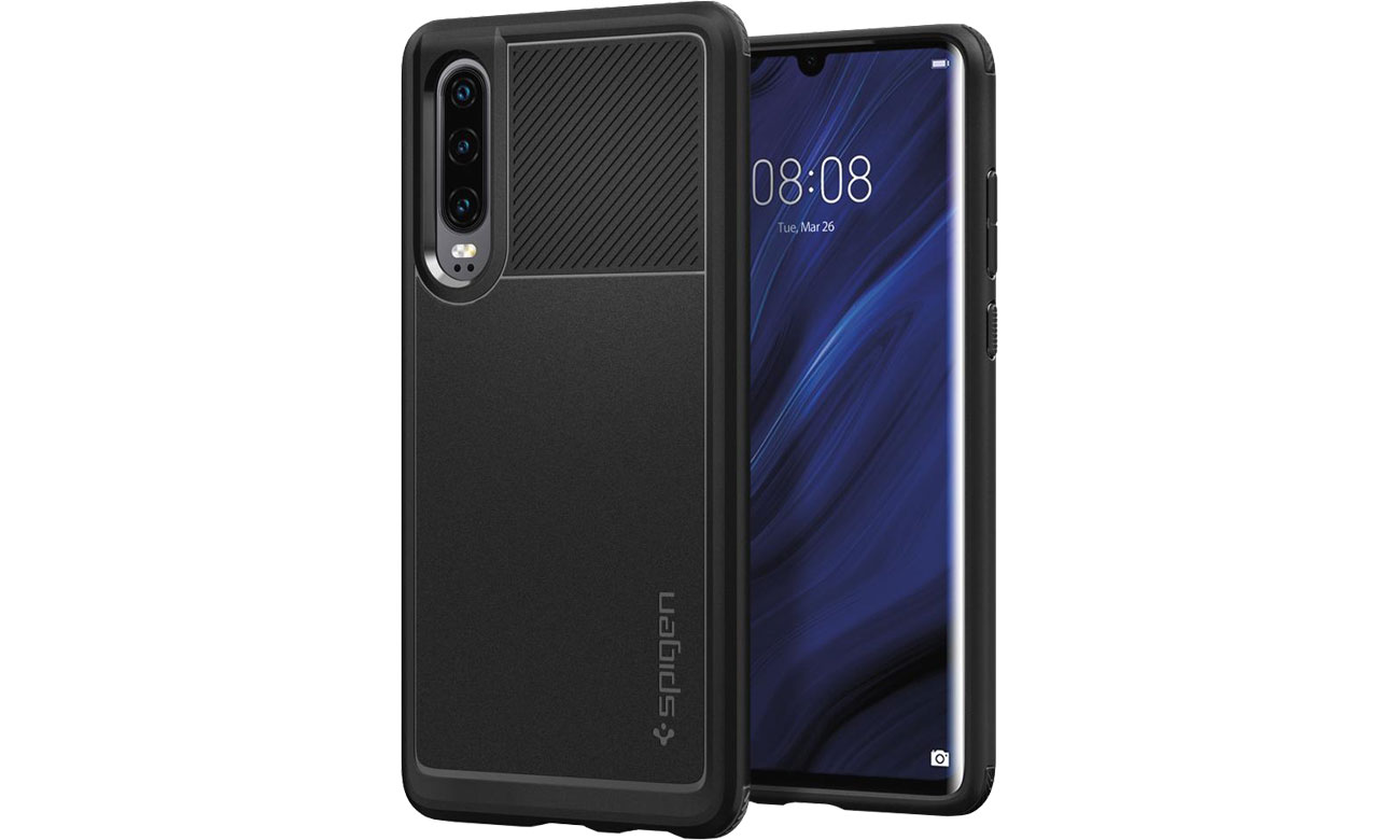 Spigen Rugged Armor do Huawei P30 Black