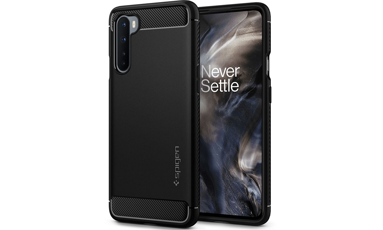 Spigen Rugged Armor do OnePlus Nord czarny