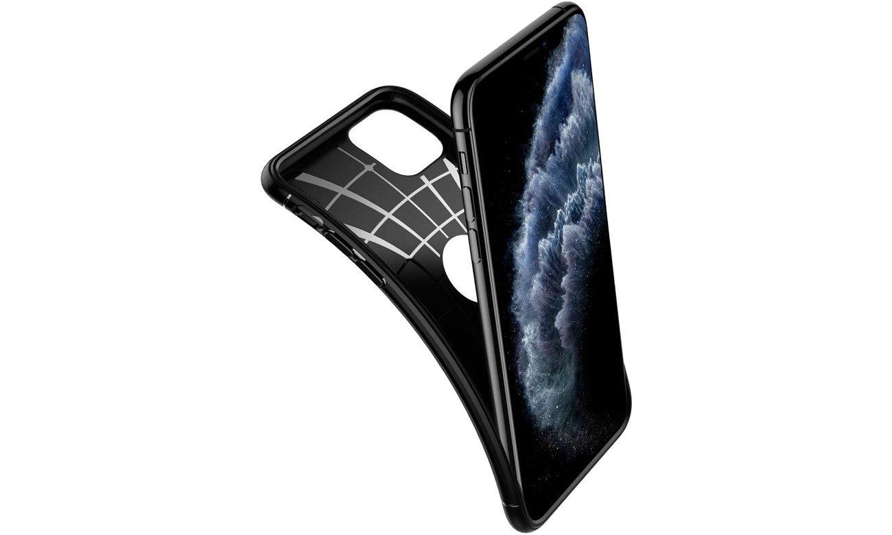 Spigen Rugged Armor do iPhone 11 Pro Max Black