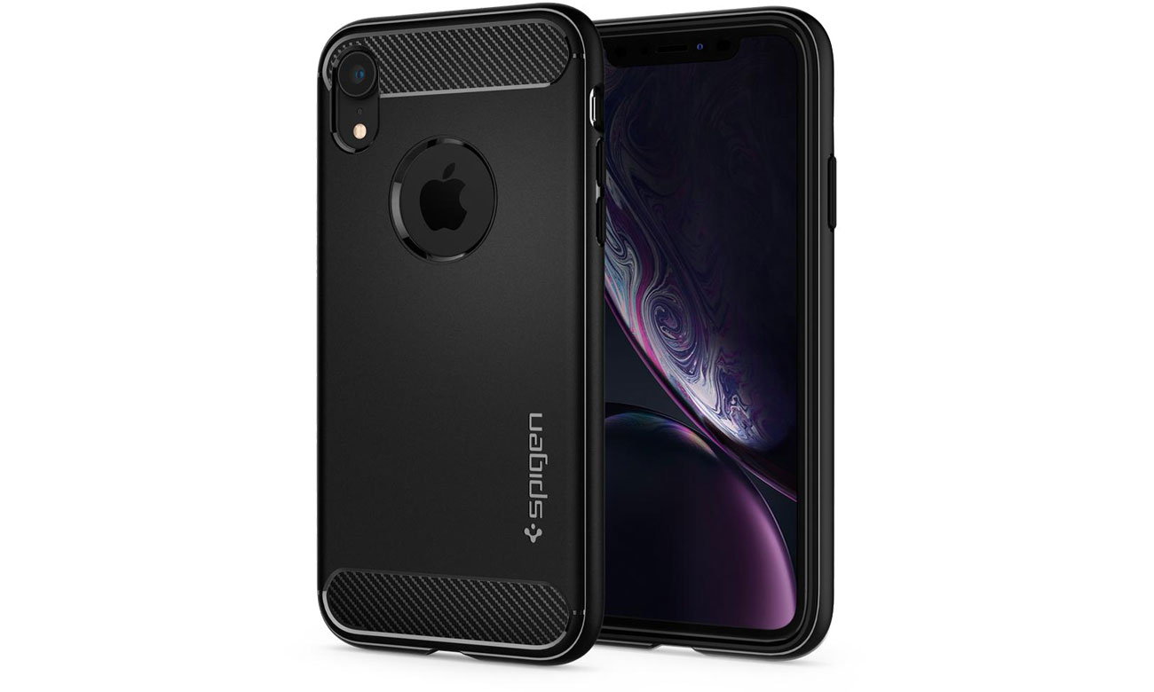 Rugged Armor do iPhone XR Matte Black 064CS24871 / 8809613763928