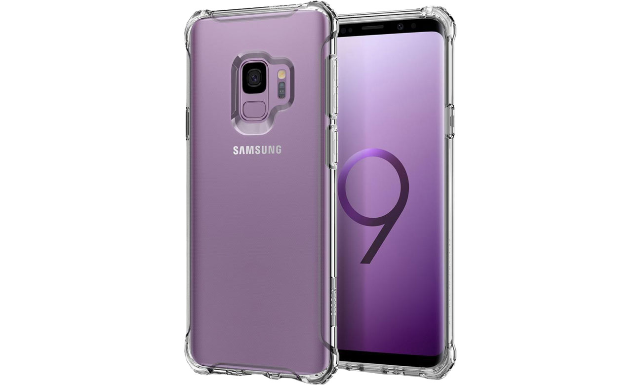 Spigen Rugged Crystal do Galaxy S9 Clear 592CS22835 / 8809565305184